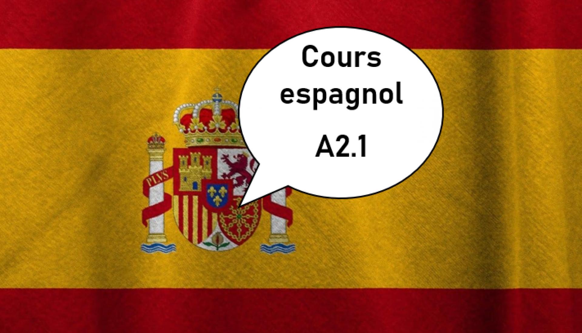 Espagnol A2.1