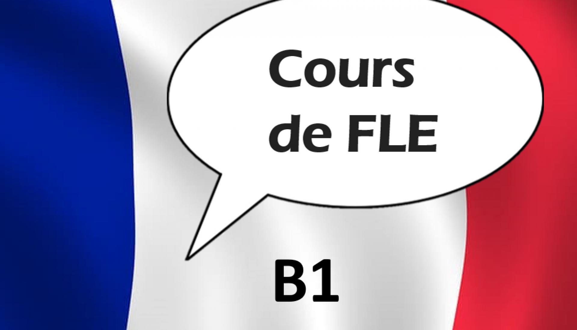 Français Langue Etrangère B1.1/B1.2