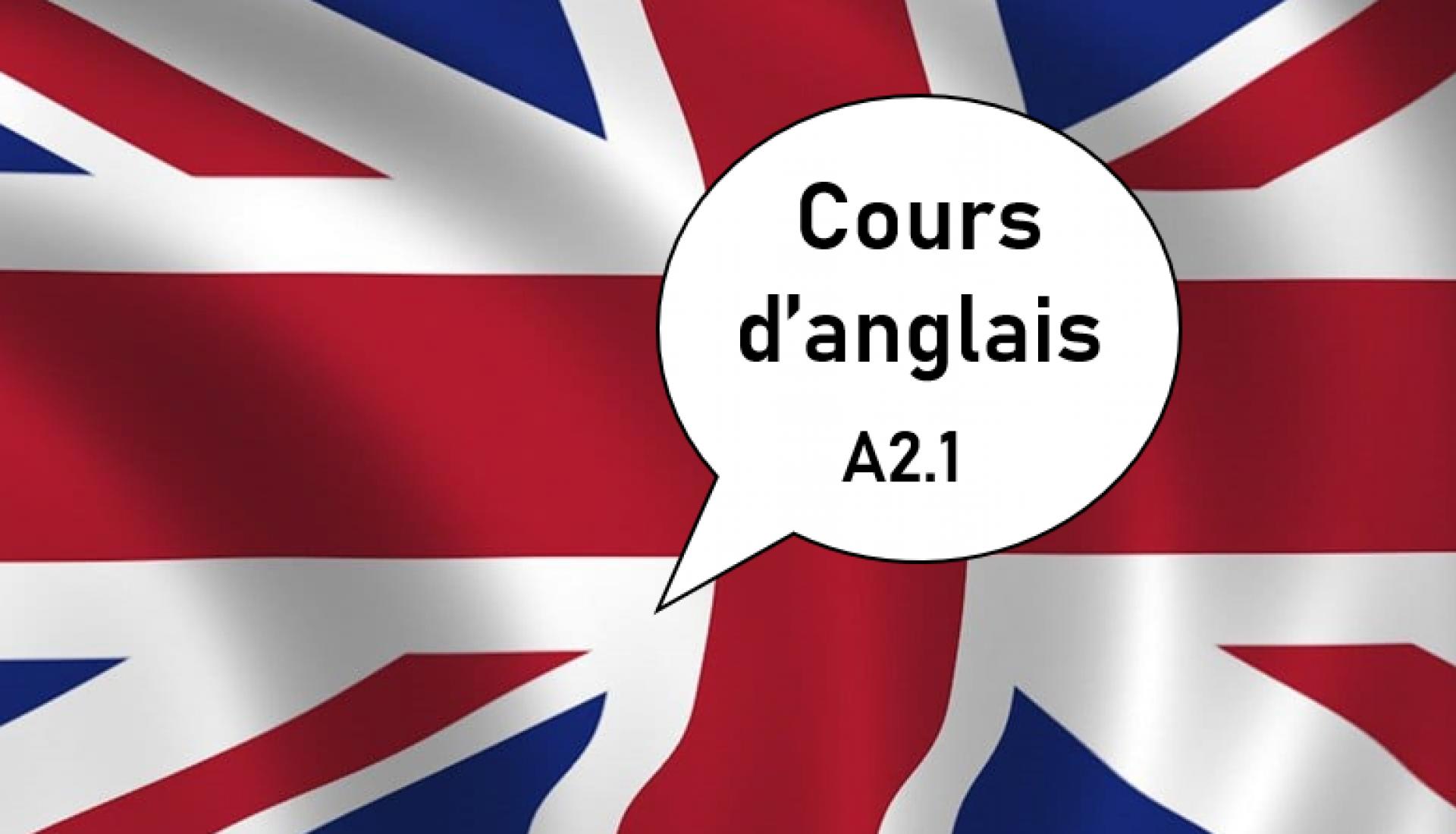 Anglais A2.1
