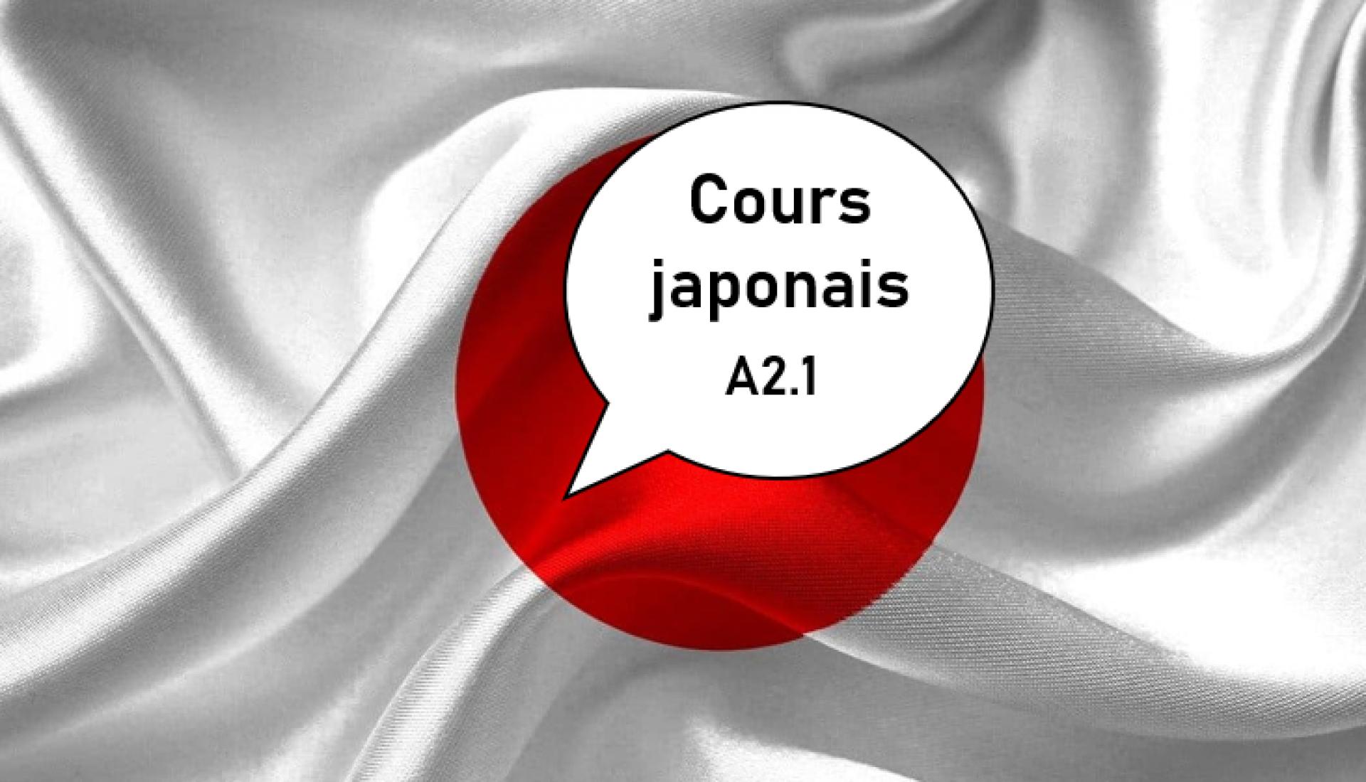Japonais A2.1