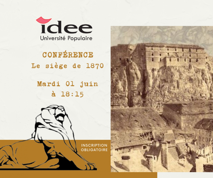 Conférence à venir : Le siège de 1870