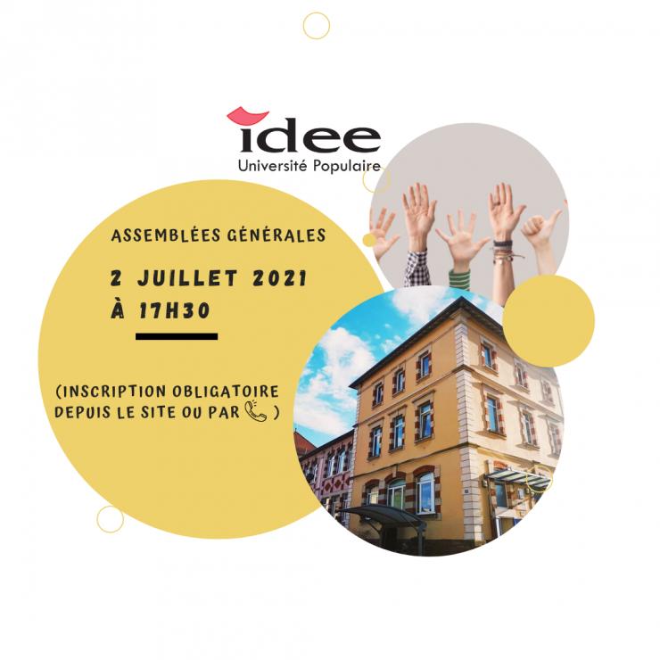 Assemblées Générales d'IDEE Université Populaire